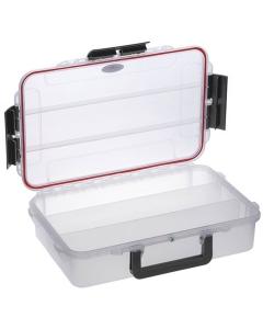 Waterdichte koffer transparant 350x230x86mm