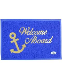 Welkom aan boord mat 40x60