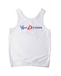 Windesign Tanktop junior wit voor