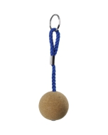 Drijvende sleutelhanger kurk 5cm