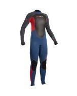 Gul Response 3/2 FL wetsuit junior blauw