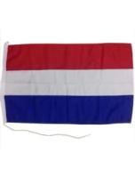 Nederlandse vlag boot 50 x 75cm