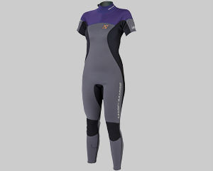 Dames short arm wetsuits