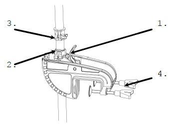instellen elektrische buitenboordmotor