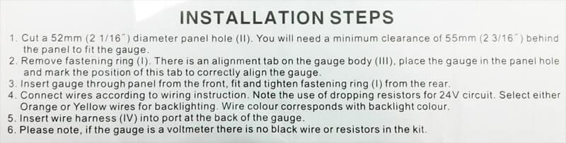 Installatie instructies 3
