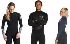 Wetsuits surfen